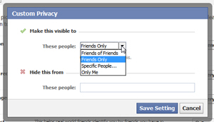 Configure how to hide your likes from other Facebook users