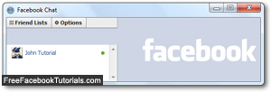 Facebook Chat client in a new window popup