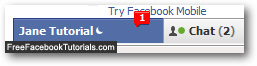 Facebook Chat message sent to idle user