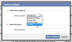 hide current city and hometown from your facebook profile
